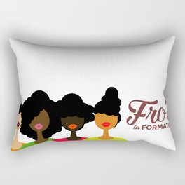 FROS IN FORMATION Rectangular Pillow