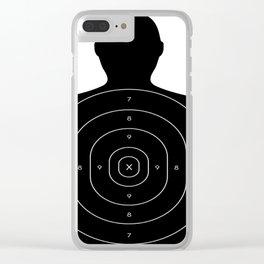 Practice Target Design Clear iPhone Case