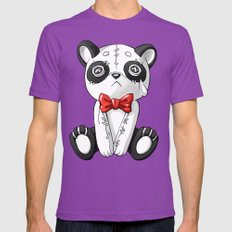 Panda Doll LARGE Ultraviolet Mens Fitted Tee