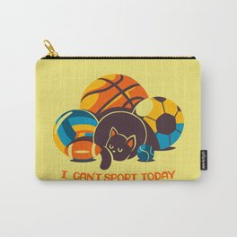 I Can't Sports Today Carry-All Pouch