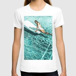 Pool Day #society6 #painting #summer T-shirt