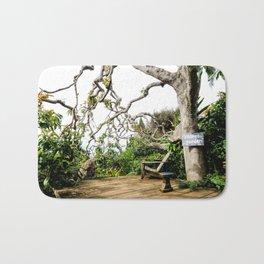 Secret Garden - horizontal side view Bath Mat
