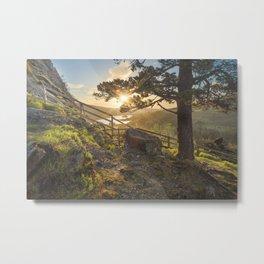 Sunrise in Gougane Barra Metal Print
