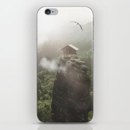 House on top of the Mountain iPhone Skin