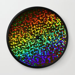 Glimmer & Gleam Wall Clock