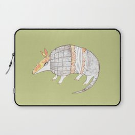 Stich and Fauna:  Armadillo Laptop Sleeve