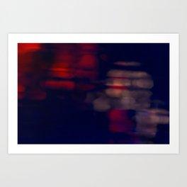Blurred Reflections 2 Art Print