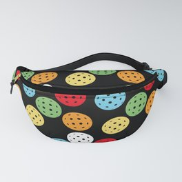 Colorful Pickleball Pattern Fanny Pack