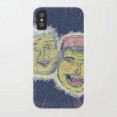 Stone cheeks iPhone X Slim Case