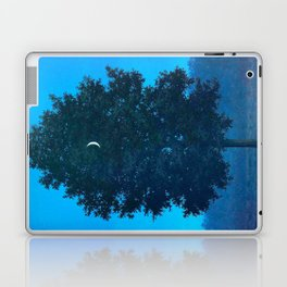 Rene Magritte - Le Seize Septembre - 1956 Moon Through Tree Surrealism Laptop & iPad Skin