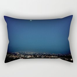 l.a. blur Rectangular Pillow