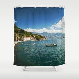 Perast Shower Curtain