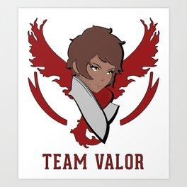 Team Valor Art Print