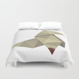 Origami Killer Duvet Cover