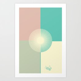 Summer Breeze Art Print