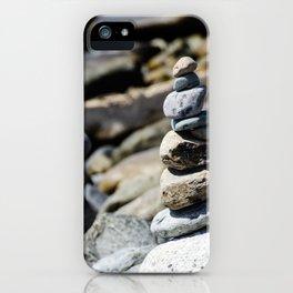 Balance Stones iPhone Case