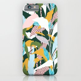 Fragmented Jungles iPhone Case