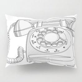 Rotary Phone Pillow Sham