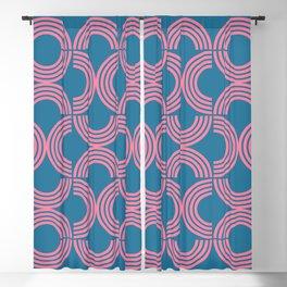 Deco Geometric 01B Blackout Curtain