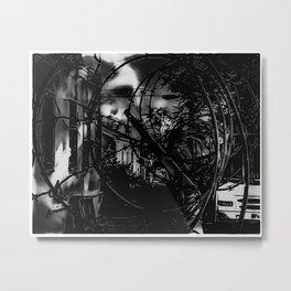 Encroaching Metal Print