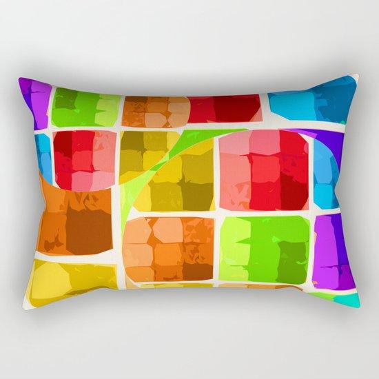Denatured Rectangular Pillow