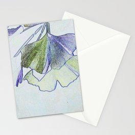 Gingko Abstract Stationery Cards