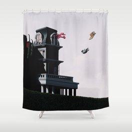 It Was No Surprise Shower Curtain