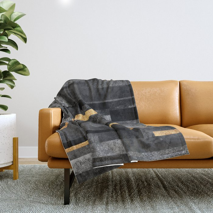 Urban Black & Gold Decke
