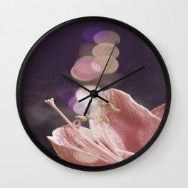 Light Contact  Wall Clock
