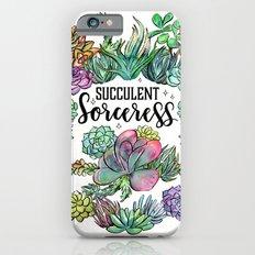 Succulent Sorceress iPhone 6s Slim Case