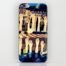In the hands of absence iPhone Skin