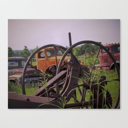 Junk or History Canvas Print