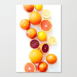Winter Citrus 2 Canvas Print