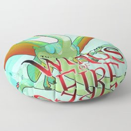 The Hidden Kingdom - Wings Of Fire Floor Pillow