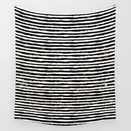 Drawn Lines - Shapes Mid Century Wall Art, Retro Minimal Art Minimalist Print Scandinavian Pos Wall Tapestry