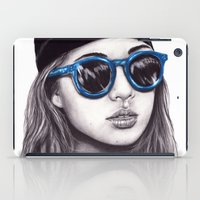 coachella iPad Cases featuring Coachella  by Bella Harris