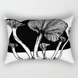 Funnel Chantarelles Rectangular Pillow