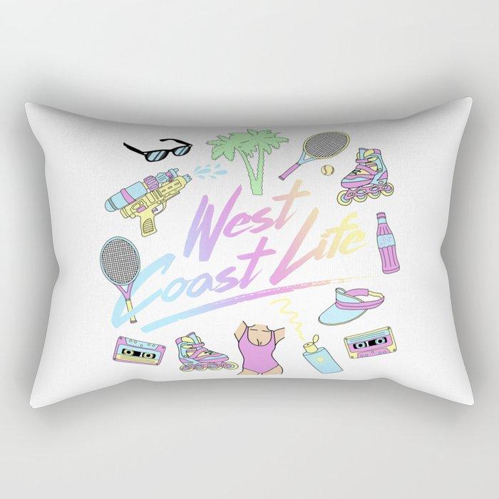 West Coast Life #2 Rectangular Pillow