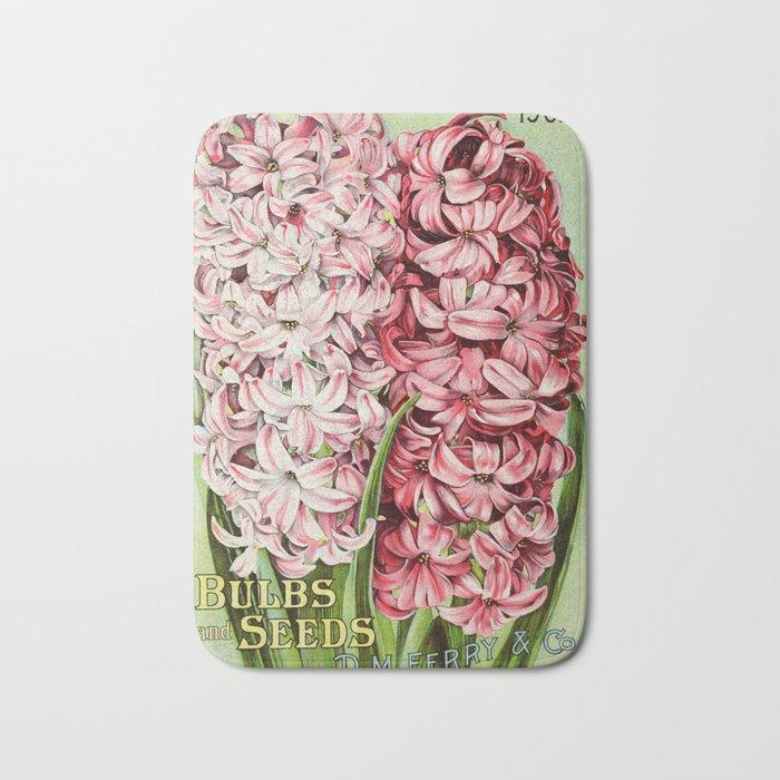 D.M. Ferry Bulbs & Seed Catalogue 1902 - Hyacinths Bath Mat