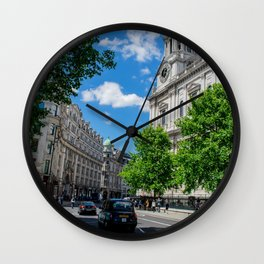 St. Paul's Cathedral in Color, London Wall Clock