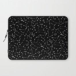 Zodiac Star Constellations Pattern Laptop Sleeve
