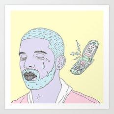 Hotline Blink Art Print