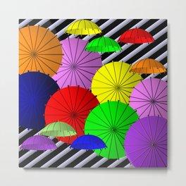 do you like umbrellas? Metal Print