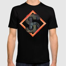 S6:  Society6 Universe MEDIUM Black Mens Fitted Tee