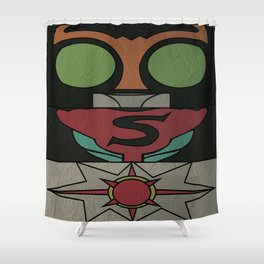 Kamen Rider Strong Shower Curtain