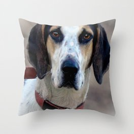 Hound 2 Throw Pillow