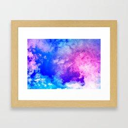Color Foam III Framed Art Print