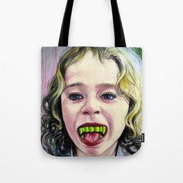 Portrait - Candy Vampire Girl Tote Bag