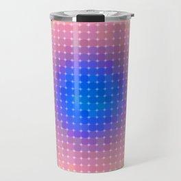 Ripple VI Pixelated Travel Mug