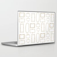 frames Laptop & iPad Skins featuring Frames by Sarah Liddell